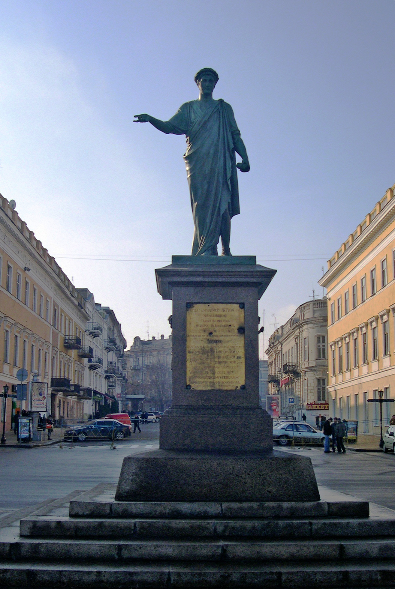 Пам'ятник градоначальнику та генерал-губернатору А. де Рішельє в Одесі