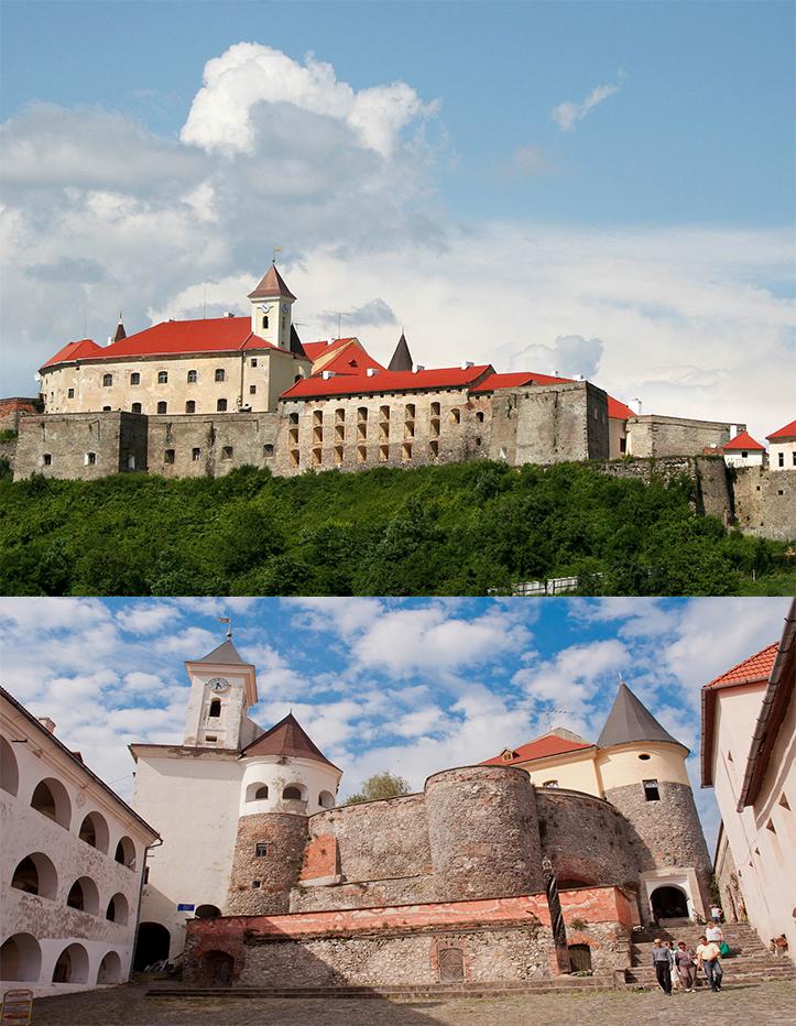 Замок Паланок (Мукачівський замок). XIV-XVII ст.
