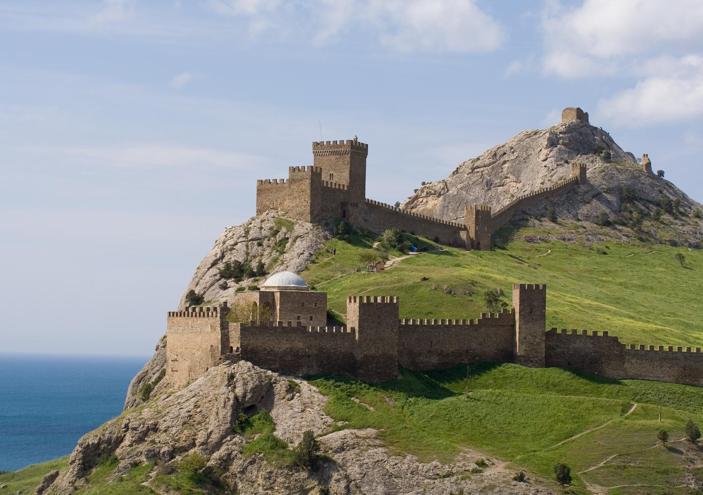 Генуезька фортеця у Судаку. 1371-1469