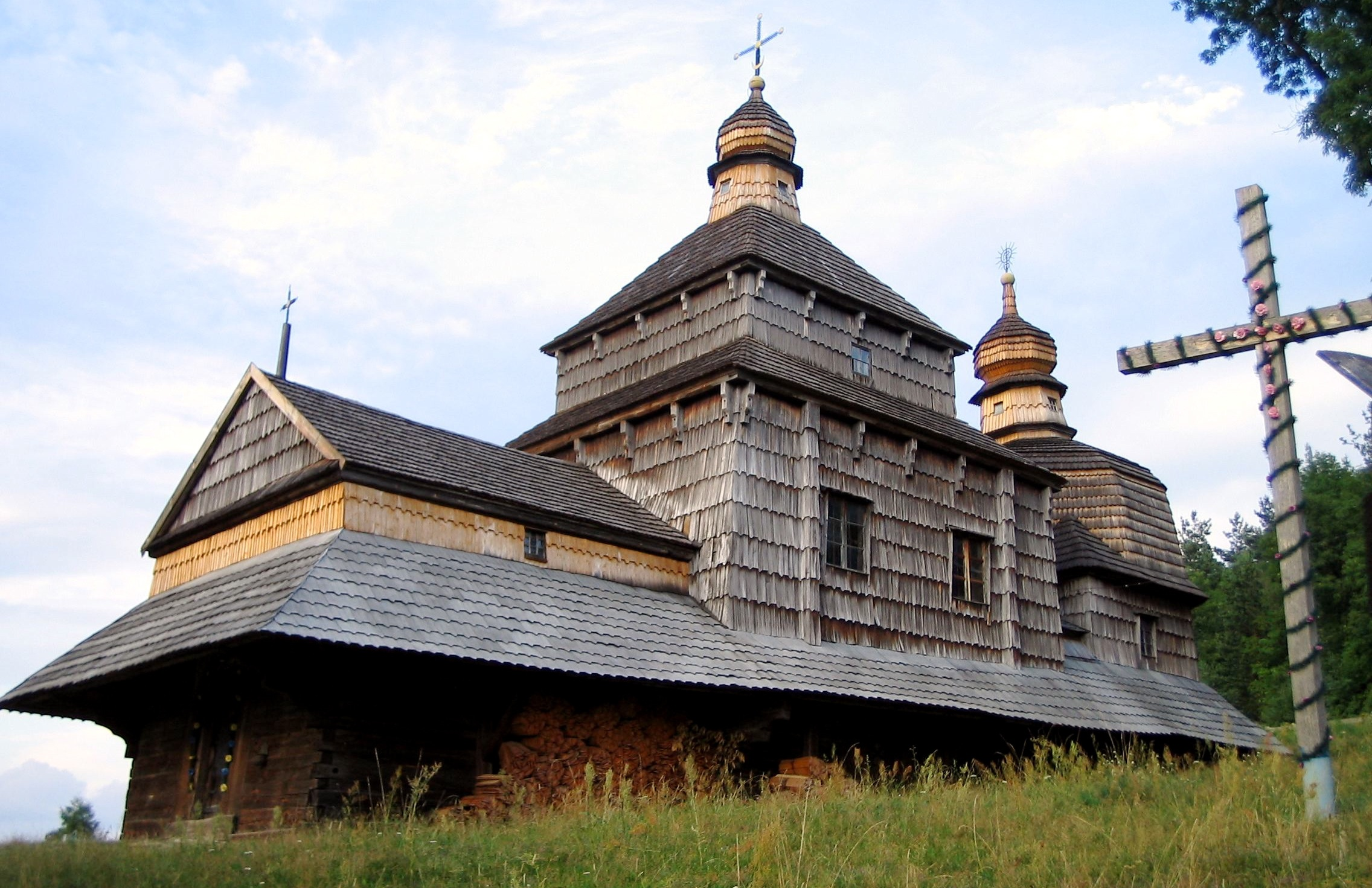 Церква Зішестя Святого Духа в Потеличі. 1502