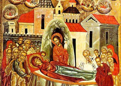 Ікона «Успіння Богородиці». 1547. О. Горошковим.