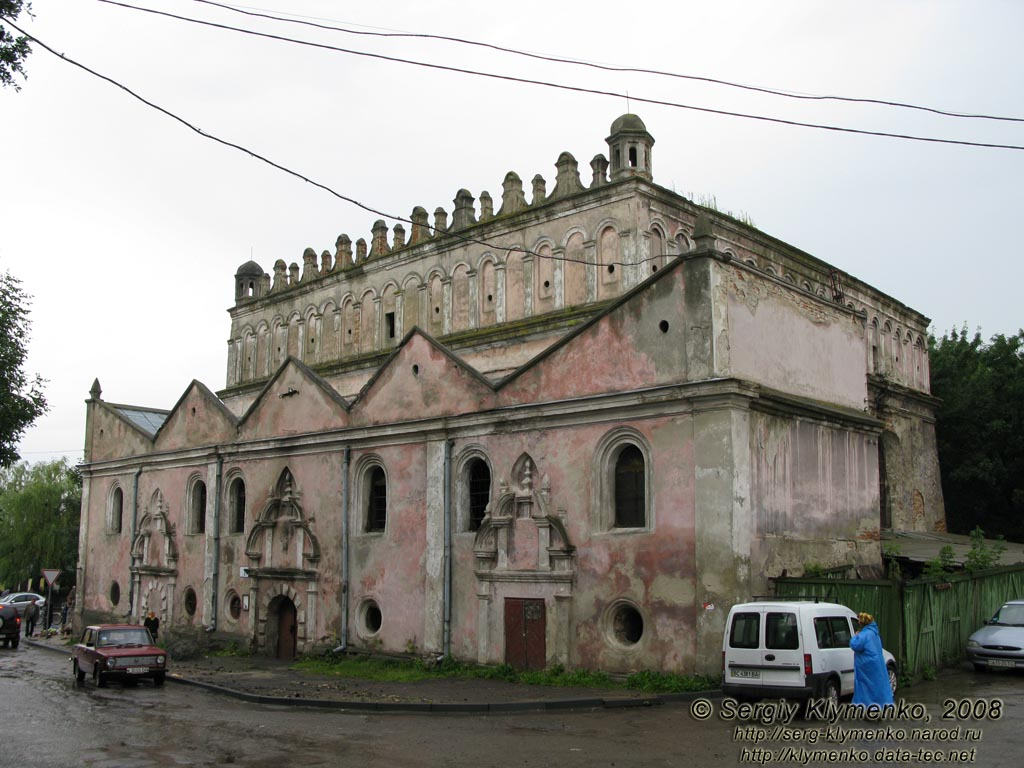 Оборонна синагога в Жовкві. 1692-1698