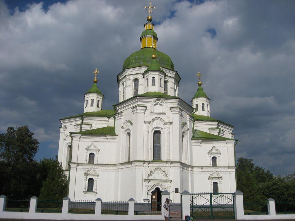 Преображенська церква у Великих Сорочинцях