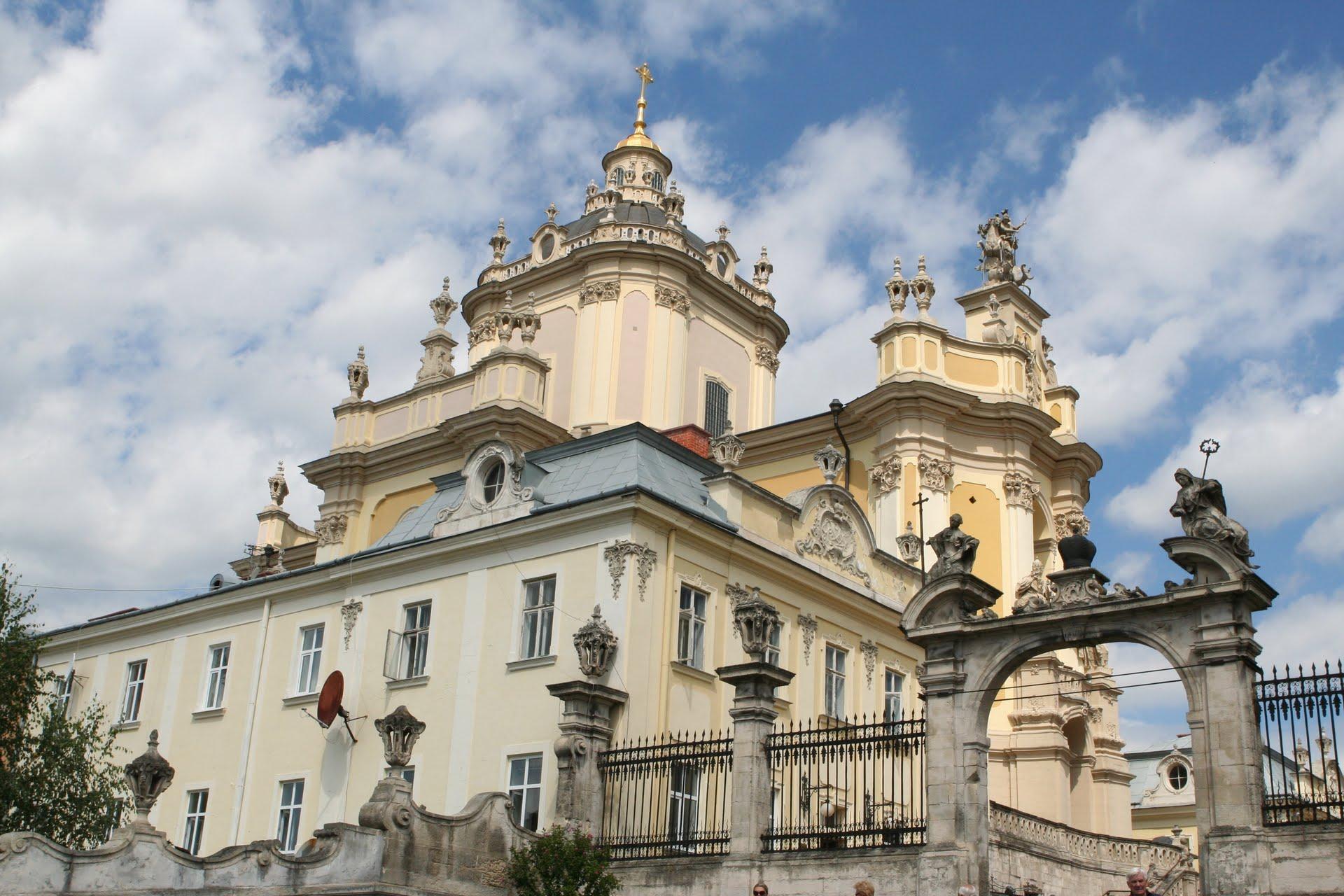 Собор святого Юра у Львові. 1746-1762.