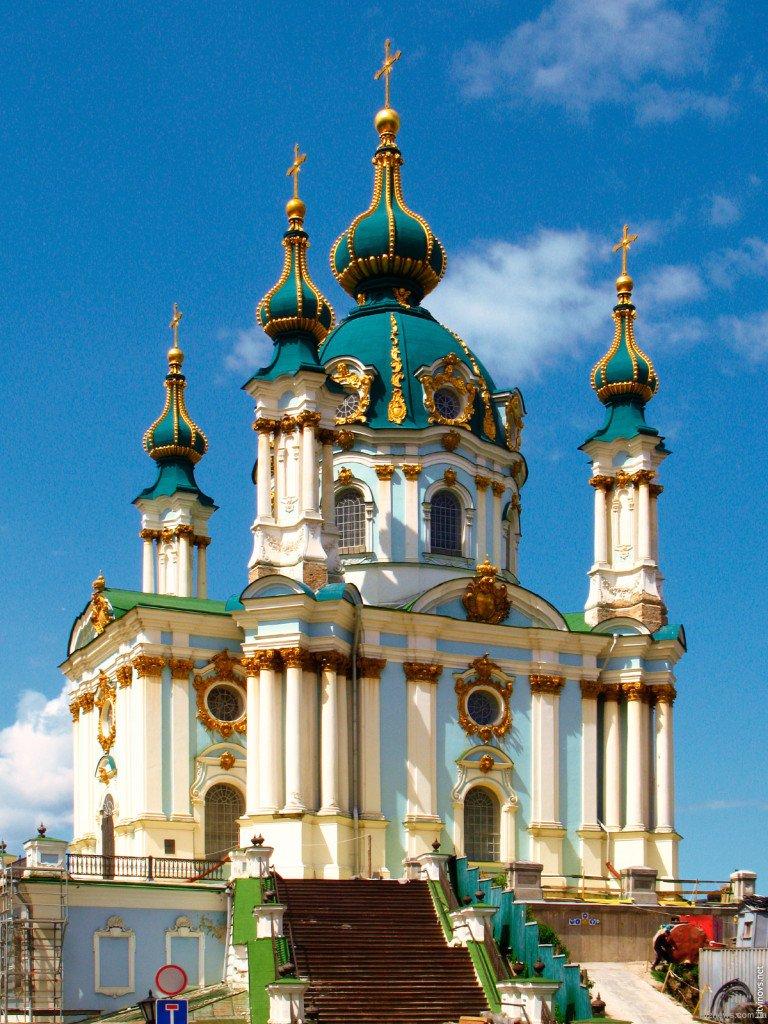 Андріївська церква у Києві. 1747-1757