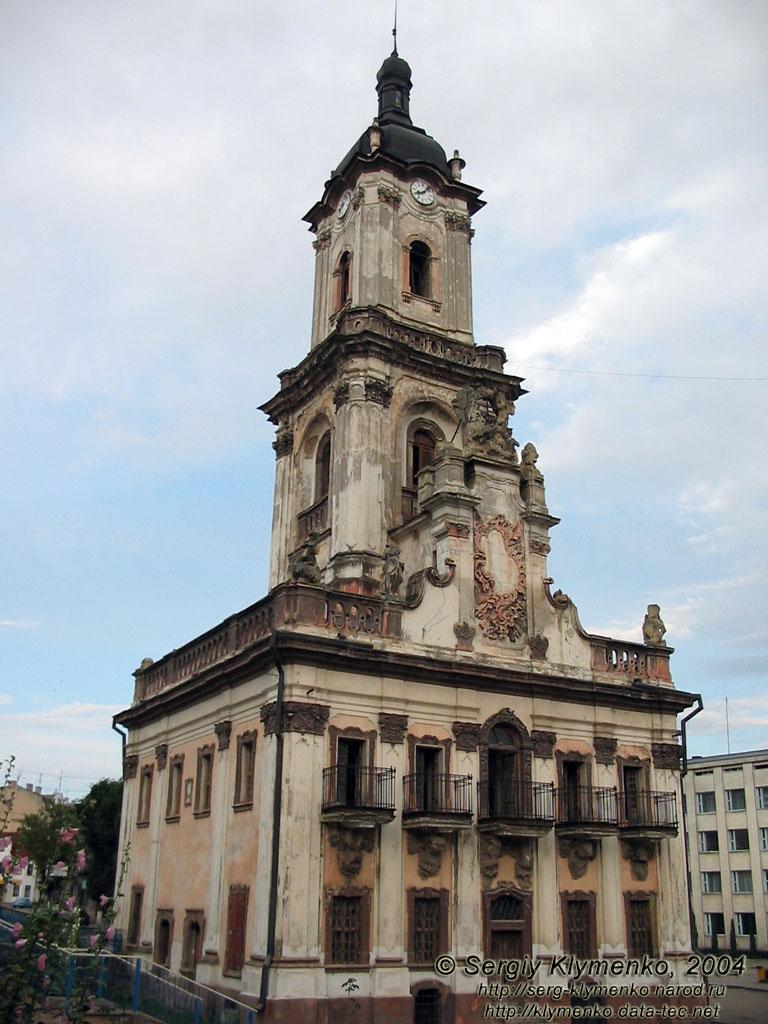 Ратуша в Бучачі. 1751.
