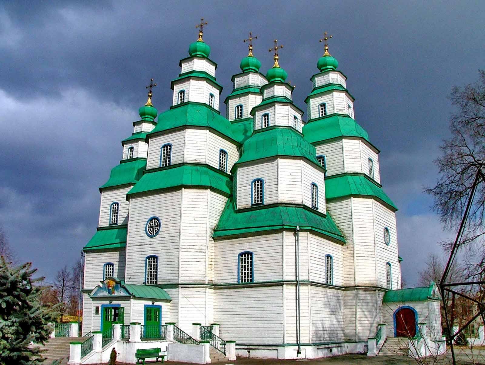 Троїцький собор у Новомосковську. 1773-1778. Майстер Я.Погребняк