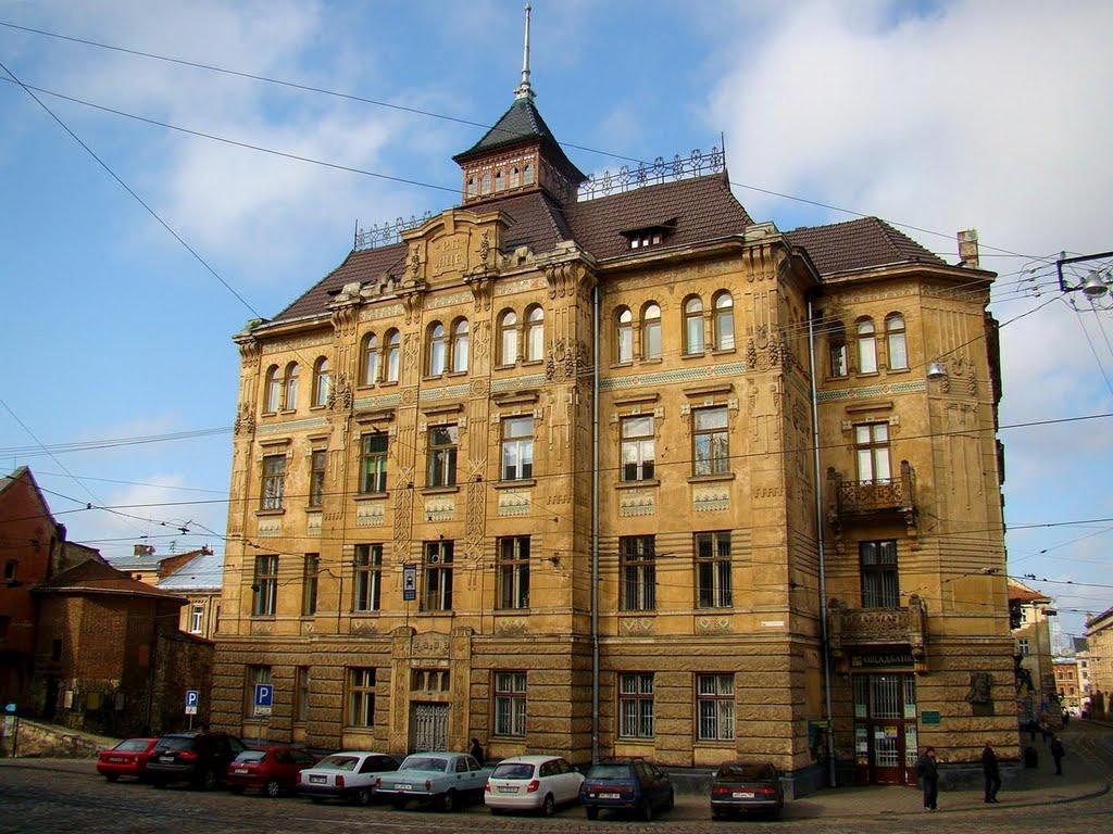 Будинок страхового товгриства «Дністер» у Львові. 1905-1906.