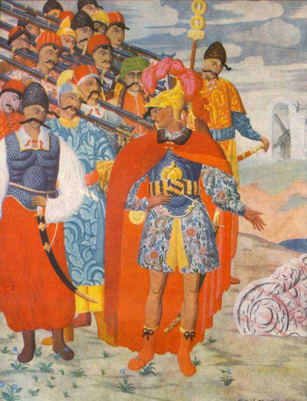 «Еней та його військо». 1919. Г. Нарбут.