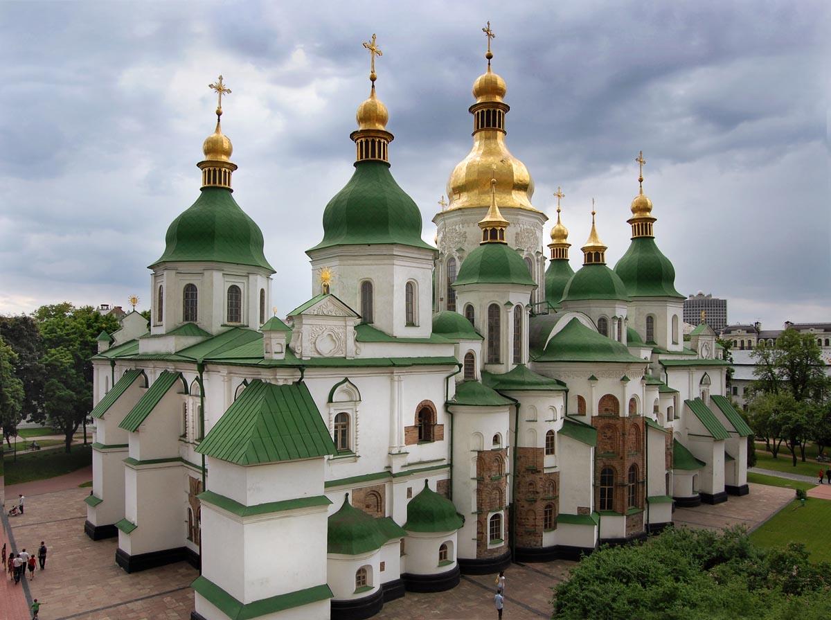 Софійський собор у Києві. Перша половина XI ст. Сучасний вигляд