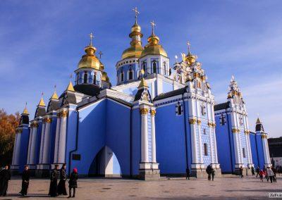 Михайлівський Золотоверхий собор Михайлівського монастиря в Києві. 1108-1113