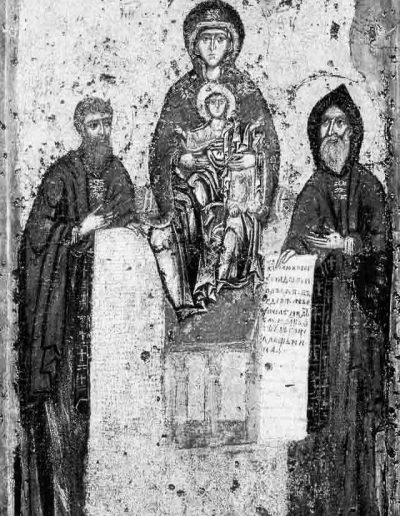 13. Свенська ікона Богородиці з Антонієм і Феодосієм Печерськими