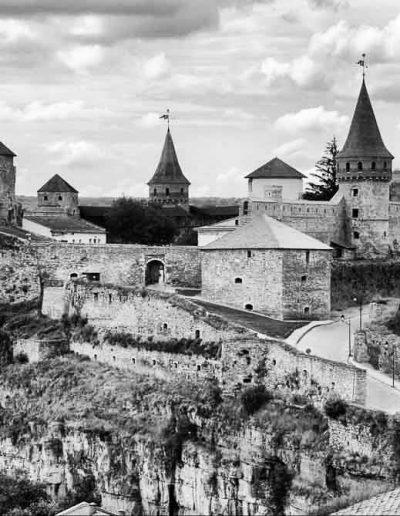 23. Кам'янець-Подільська фортеця. XIV -XVI ст