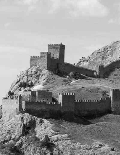 27. Генуезька фортеця у Судаку. 1371-1469