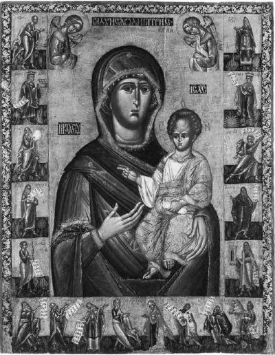 31. Ікона Богородиці з пророками з церкви у Підгородцях