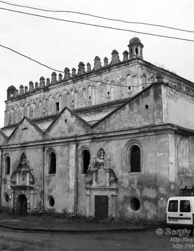 51. Оборонна синагога в Жовкві. 1692-1698