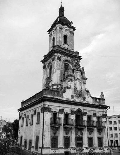 56. Ратуша в Бучачі. 1751