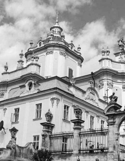 58. Собор святого Юра у Львові. 1746-1762