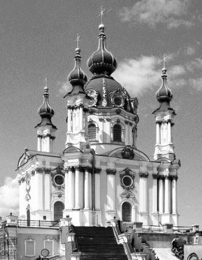 59. Андріївська церква у Києві. 1747-1757