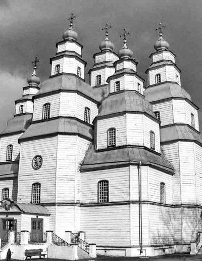 61. Троїцький собор у Новомосковську. 1773-1778. Майстер Я. Погребняк