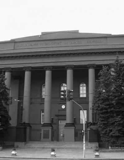 64. Будівля Київського університету. 1837-1843