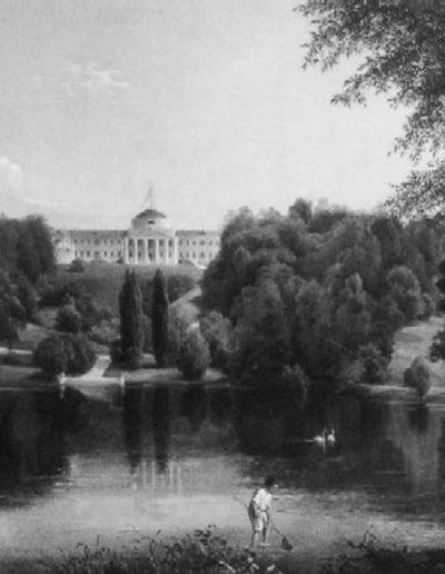 69. Картина «Садиба Г. Тарновського в Качанівці» В. Штернберг. 1837