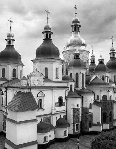 7. Софійський собор у Києві. Перша половина XI ст. Сучасний вигляд