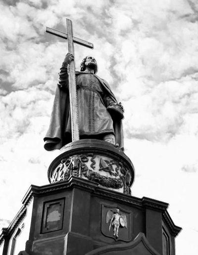 70. Пам'ятник князю Володимиру в Києві. 1850-1853
