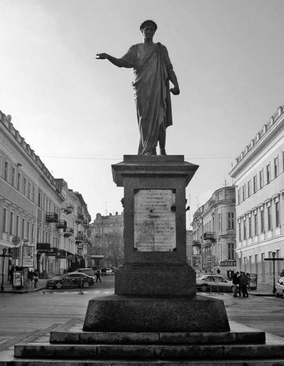 71. Пам'ятник градоначальнику та генерал-губернатору А. де Рішельє в Одесі