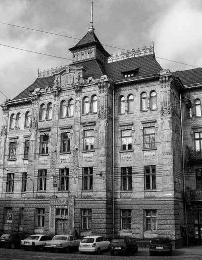 74. Будинок страхового товгриства «Дністер» у Львові. 1905-1906