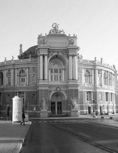 76. Будівля оперного театру в Одесі. 1883-1887