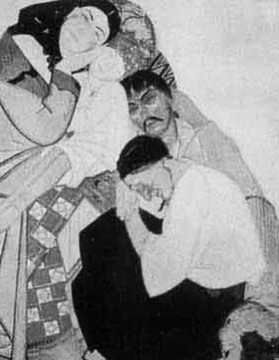 88. Картина «Життя». Триптих (Любов. Сім'я. Повернення). 1925-1927. Ф. Кричевський