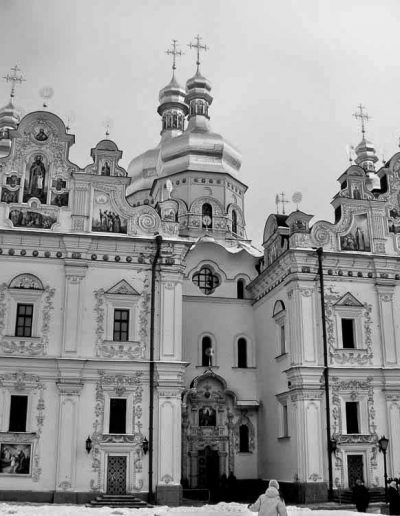 9. Успенський собор Києво-Печерської лаври. 1073-1078
