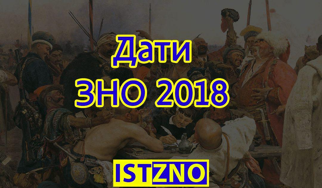 У 2018 році ЗНО відбудеться з 22 травня по 14 липня
